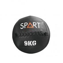 Медбол SPART 9 кг / большой кожанный