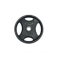 Диск обрезиненный Stein 1,25 - 25 кг /черный