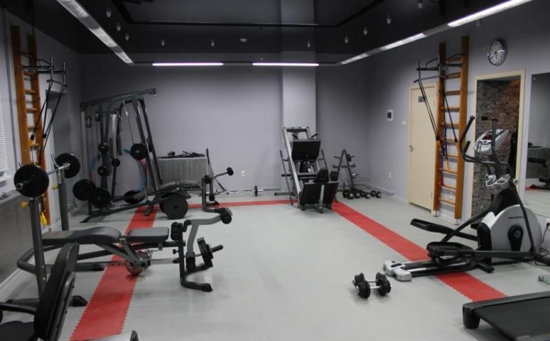 Выбор напольного покрытия для спорт зала